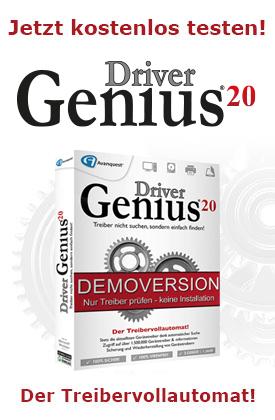 Jetzt kostenlos Driver Genius 20 testen!